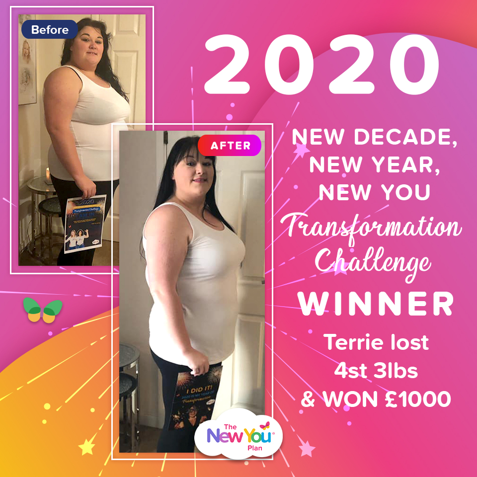 2020 New Decade, New Year, New You Transformation Challenge WINNER
