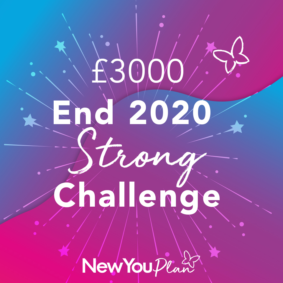 Join Our End 2020 Strong Transformation Challenge For Your Chance To WIN £3000