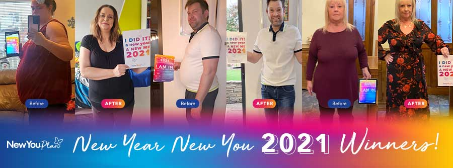 2021 New Year, New You Transformation Challenge Winners Revealed!