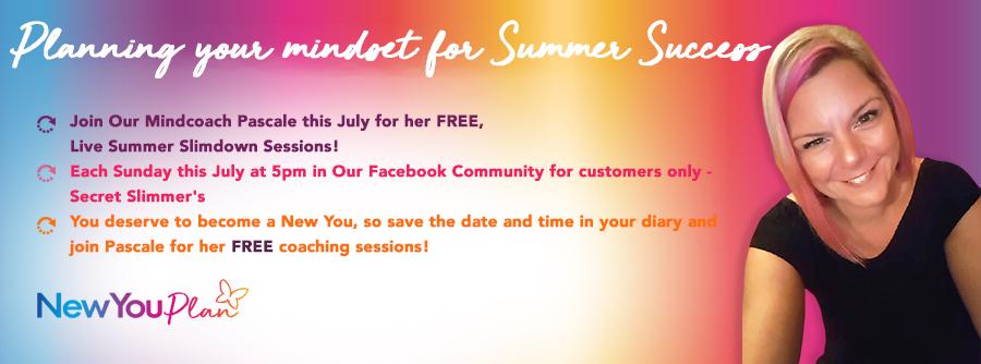 Your Summer Slim Down Mindset -Sunshine love