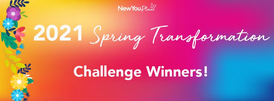 2021 Spring Transformation Winners!