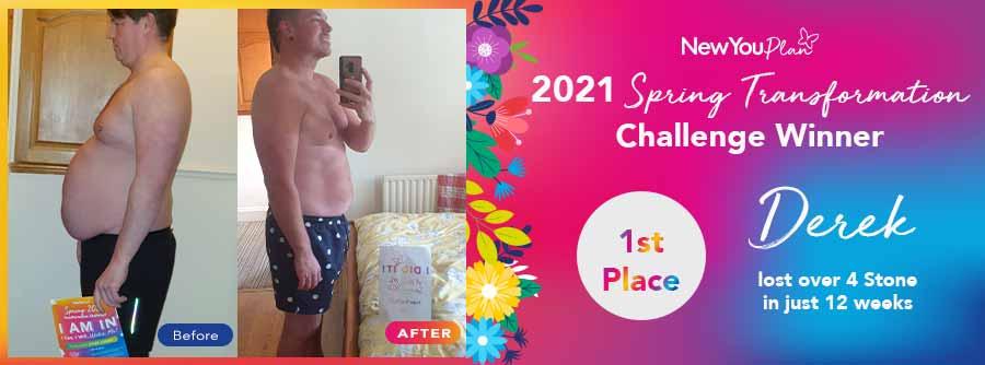 2021 Spring Transformation Challenge Winner – 1st Place Derek
