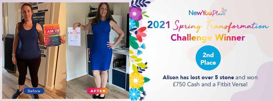2021 Spring Transformation Challenge Winner – 2nd Place Alison