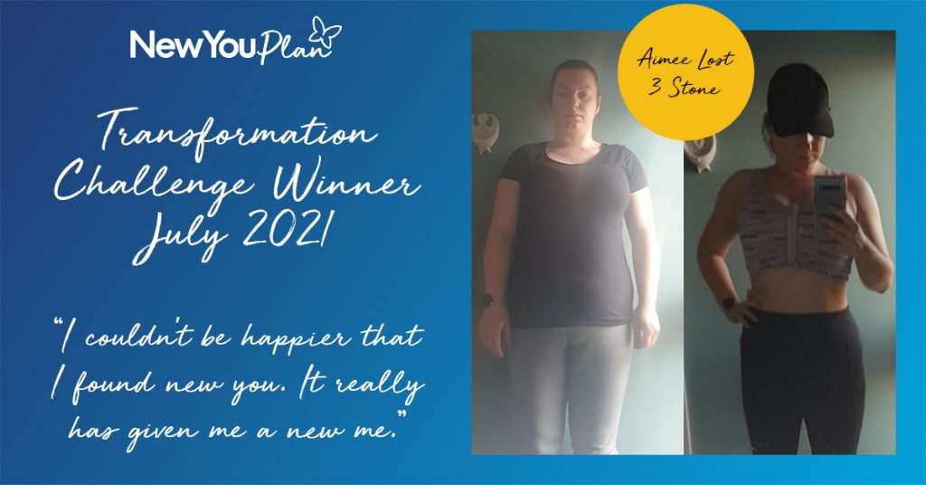 Aimee lost 3 stone and Won £1000 CASH!!!