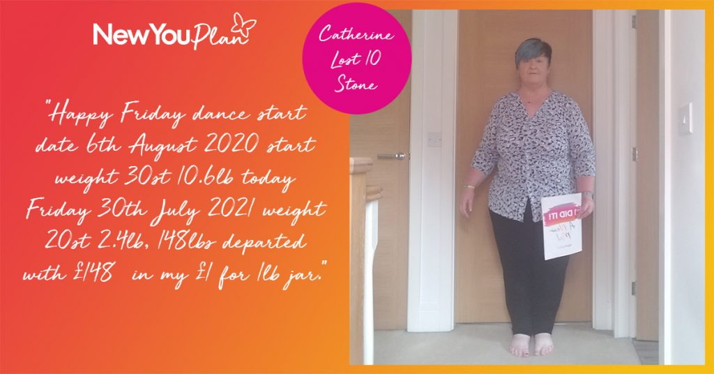 Catherine Lost a Whopping 10 Stone!