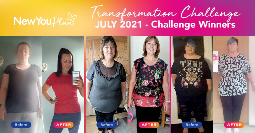July 2021 Transformation Challenge Winners!