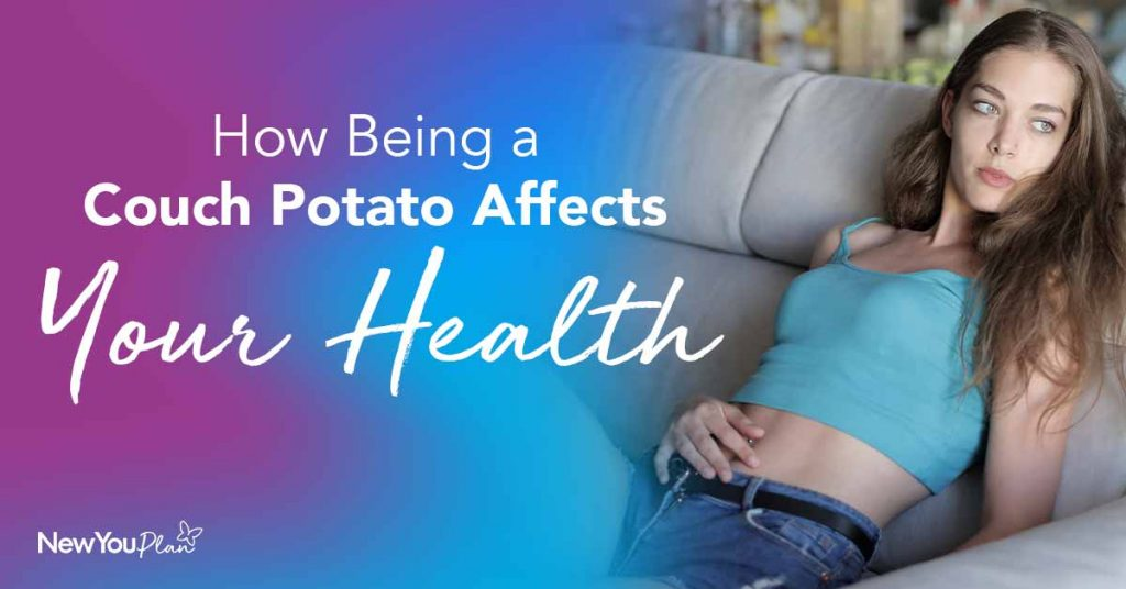 How Being A Couch Potato Affects Your Health