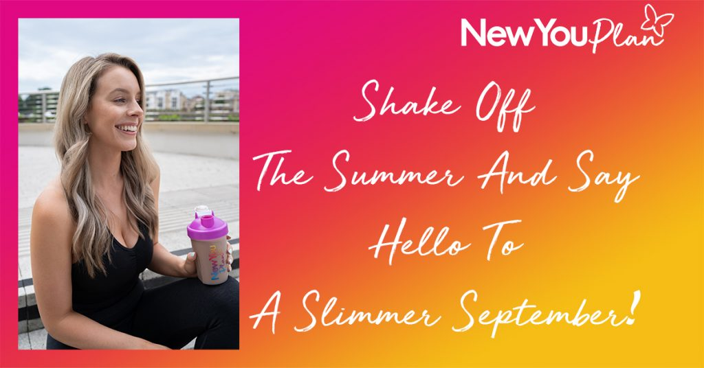 Shake Off The Summer And Say Hello To a Slimmer September