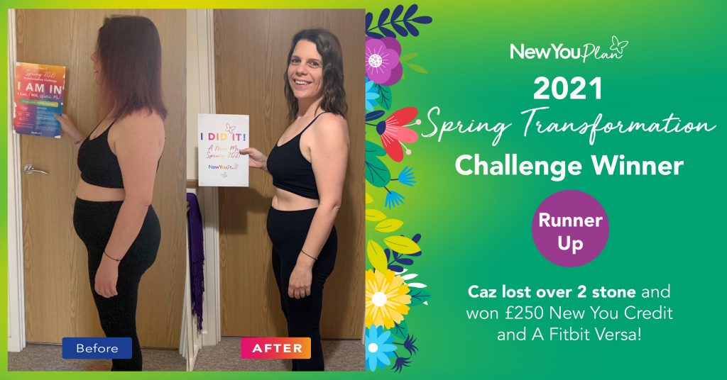 Caz Lost Over 2 Stone and Looks incredible!