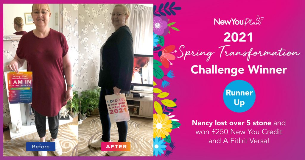 Nancy lost Over 5 Stone!