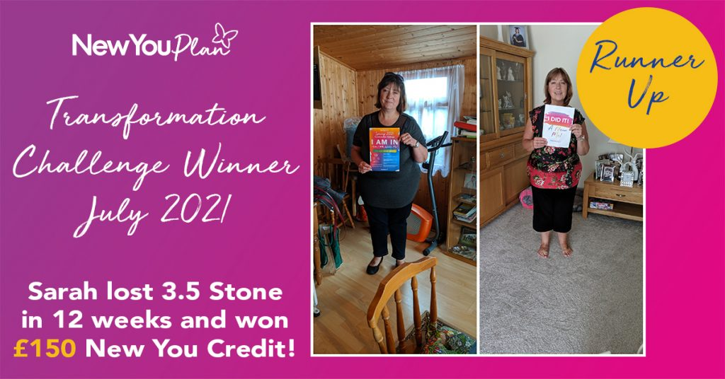 Read How Sarah Lost Over 4 Stone!