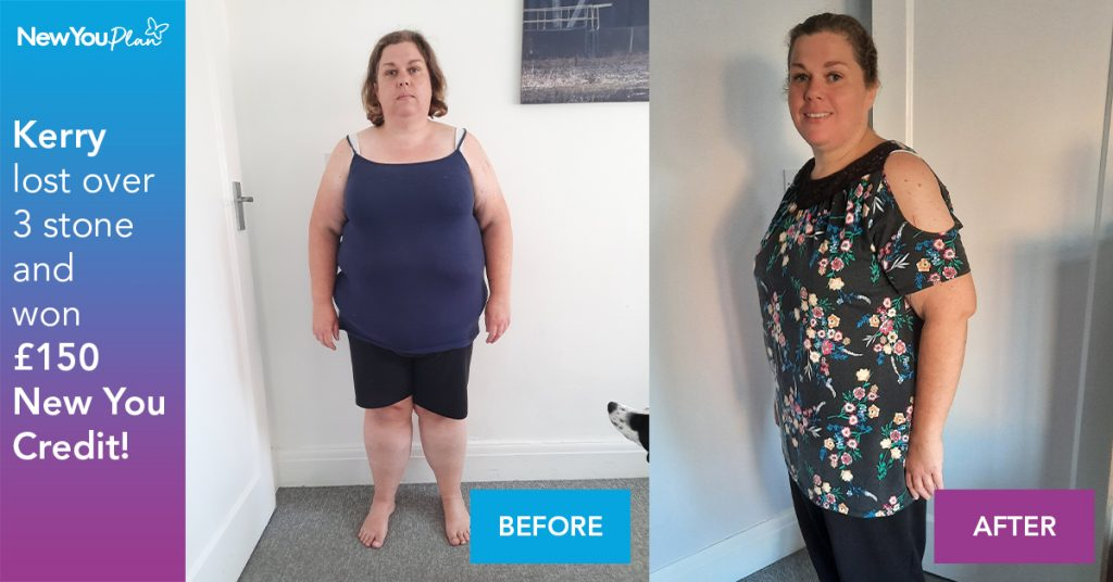 Kerry Lost 3 Stone in Just 10 Weeks AND dramatically Changed her Health!