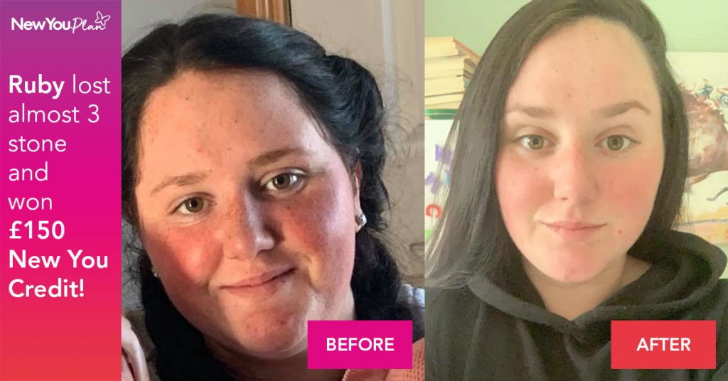 Ruby Lost just shy of 3 Stone in just 12 Weeks after 2 back to back pregnancies!