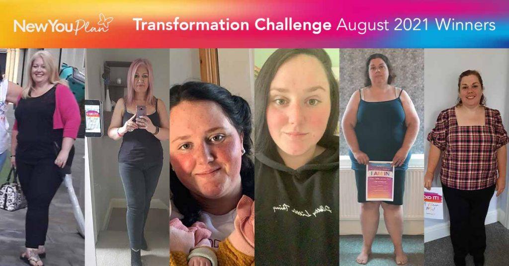 August Transformation Challenge Winners!